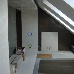 remont łazienki na poddaszu