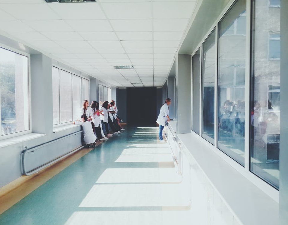 sprzątanie w szpitalach